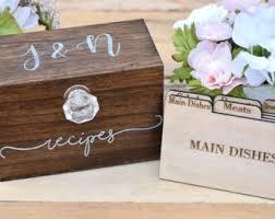 Decorative Recipe Box Recipe box Etsy 64