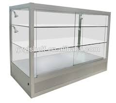 Aluminium Display Stands Delectable Most Useful Mdf Aluminium Glass Counter Glasses Display Showcase In