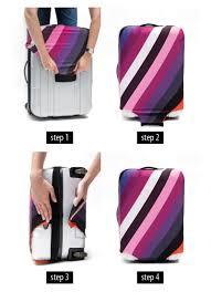 Velosock Kofferschutzhülle Hält Ihren Reisekoffer Sauber