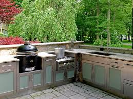 Kitchen Floor Tile Ideas With Cherry Cabinets Cliff Kitchen - Outdoor kitchen omaha