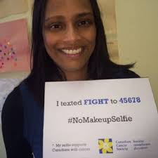 australia nomakeupselfie cancer fundraising caign facebook rowena pinto vice president public affairs and strategic initiatives for the