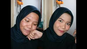 daily makeup untuk kulit berjerawat pakai makeup murah