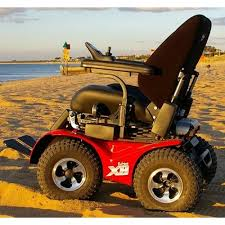 x x extreme all terrain power wheelchair by innovation in x8 4x4 extreme all terrain electric power wheelchair beach picture