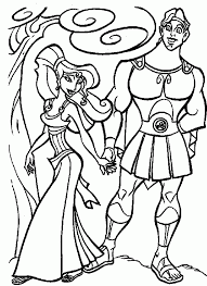 Hercules coloring pages to download and print for free