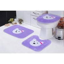 Encontre diversos produtos da marca doitool com ótimos preços. Jogo De Banheiro Padrao 03 Pecas Gatinha Lilas Lilas Madeiramadeira