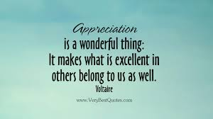 Appreciation is a wonderful thing - Inspirational Quotes about ...