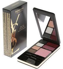 yves saint lau very ysl makeup palette black edition