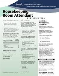 Room Attendant Resume Example Lovely Housekeeping Room Attendant Resume Sample Gallery 11