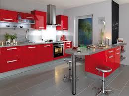 Meuble De Cuisine Rouge Laque Ikea