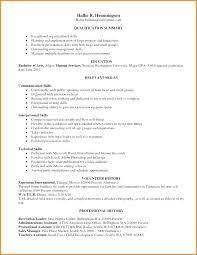 Qualification Summary Resume Enchanting Relevant Skills For Resume Relevant Skills Resume Relevant Skills