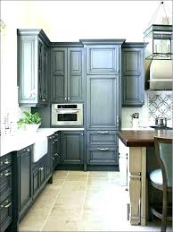 distressed blue cabinet kitchen cabinets green stained