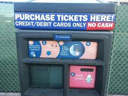 Ticket Vending Machine Las Vegas