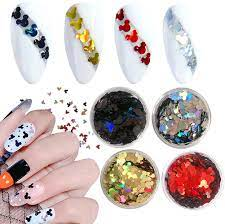Buy Mickey Mouse Nail Glitter Sequins 3D Sparkles Nail Art Supplies 4 Boxes  Holographic Nail Art Glitters Mickey Mouse Design Colorful Flakes Designer  Nail Stickers Manicure Tips Charms Decorations Online in UK.