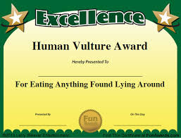 Funny Awards At Work Funny Employee Awards 101 Funny Awards For Employees