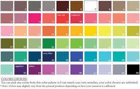 Audi A3 Colour Chart