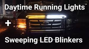 How To Install Running Lights How To Install Daytime Running Lights Sweeping Led Blinkers