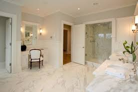 Master Bathroom Classy Calcutta Marble Master Bathroom Traditional Bathroom Milton