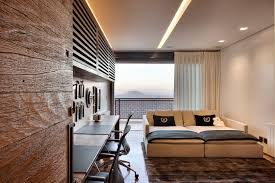 office sleeper. Beautiful Modern Sleeper Sofa Method Other Metro Contemporary Home Office Remodeling Ideas With Balcony Black Chaise L