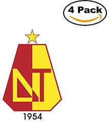 Deportes tolima performance & form graph is sofascore football livescore unique algorithm that we are generating from team's last 10 matches, statistics, detailed analysis and our own knowledge. Deportes Tolima Colombia Soccer Football Club Fc 4 Stickers Car Bumper Window Sticker Decal 4x4 Amazon Ca Home Kitchen
