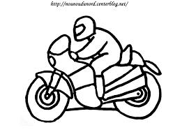 Moto 13 Transport Coloriages Imprimer Moto Coloriage Dessin L