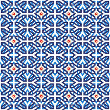 Shape Patterns Classy Traditional Arabic Ceramic Mosaic Tile Seamless Pattern Based