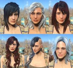 Skyrim Hair Style Mod fallout 4 hairstyle mods 71 with fallout 4 hairstyle mods 7298 by wearticles.com
