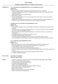 Sample Resume For Call Center Call Center Sales Representative Resume Samples Velvet Jobs 42