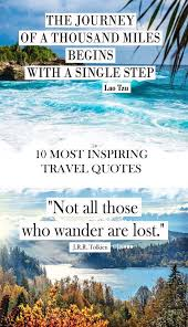 Inspirational Travel Quotes Stunning 48 Most Inspiring Travel Quotes Quotes Pinterest