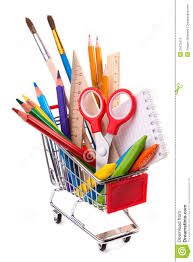 office drawing tools. School Or Office Supplies, Drawing Tools In A Shopping Cart Stock Image - Of Accessories, Assorted: 31672415