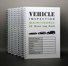 company vehicle maintenance log pack of 10 commercial vehicle inspection maintenance record log book