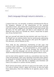 Word Of Nature 8002 Gods Language Through Natures Elements