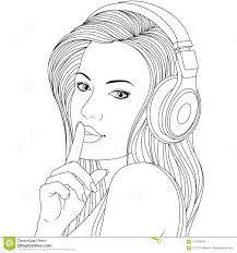 beautiful girl coloring pages.  Girl Beautiful Girl Coloring Pages Intended Girl Coloring Pages A
