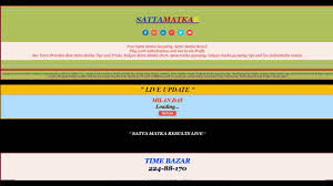 Rajdhani Chart Rajdhani Live Matka Results