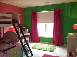 Pink And Green Walls In A Bedroom Pink And Green Girls Bedroom My 12 Year Old Self Is Super