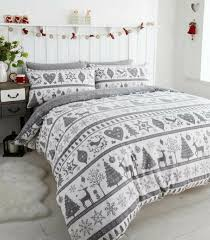 noel grey duvet cover
