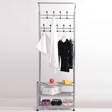 Coat Rack And Shoe Rack Buy Coat rack multifunction racks indoor clothes rack hanger floor 47