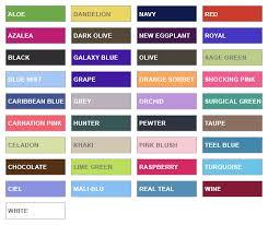 Cherokee Workwear Scrubs Color Chart Bedowntowndaytona Com