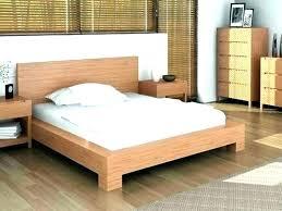 Light Wood Bed Frame Full Size Of Light Wood Bed Frame King Grey ...