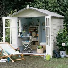 outside home office. converted potting shed outside home office e