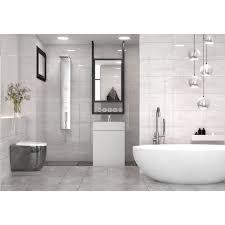 <b>Плитка настенная Marmo Milano</b> светло-серый 30х60 Golden Tile