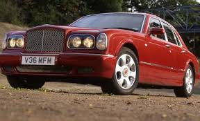 bentley arnage red label review car and driver