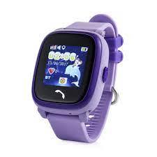 Flykids Dokunmatik Akıllı Çocuk Telefonu / Saati- FLY 400 Mor | Flykids  Akıllı Çocuk Saatleri İle Çocuğunuz Daima Güvende