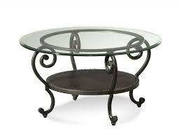 modern round metal base top elegant wrought iron coffee table legs with round glass top and golden in