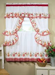 For Kitchen Curtains Black Kitchen Curtains Pinecone Backtab Sheer Kitchen Curtains
