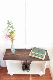 Small Entryway A Storage Bench For Small Entryway Space Southern Revivals