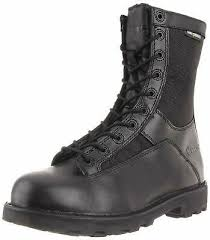Bates Women S Boots Size Chart Bates Mens 8 Ines Durashocks Lace To Toe Work Boot Choose