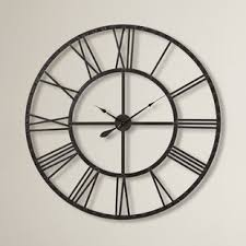 office large size floor clocks wayfair. Oversized 44.5\ Office Large Size Floor Clocks Wayfair
