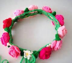 Crochet Crown Pattern Inspiration Ravelry Crocheted Flower Crown Pattern By Crocket Crochet