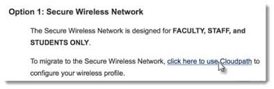 connect to the wireless network mac os information note for instructions on connecting to the unsecured wireless network see connect to the wireless network as a guest