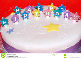 Happy Birthday Cake Stock Image Image Of Colour Wish 17039489